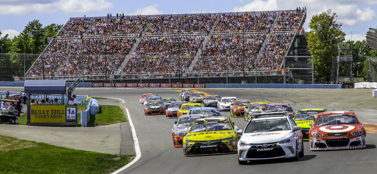 Watkins Glen Race Track >> Race Weekend Schedule Announced For Nascar At Watkins Glen