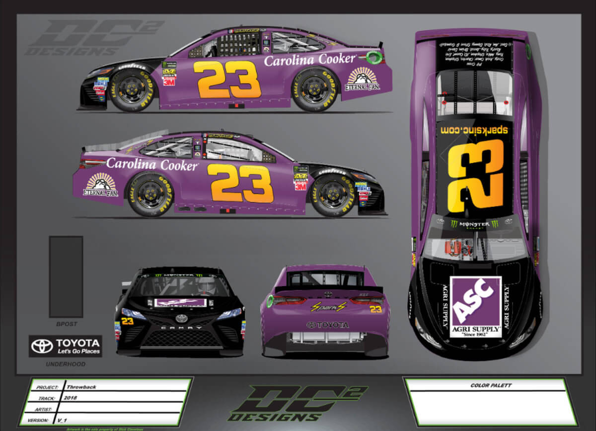 Joey Gase to pull double duty this weekend in Darlington Raceway
