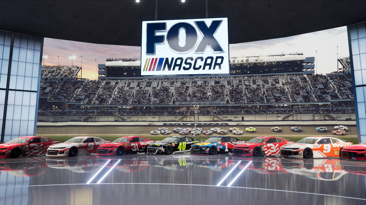 FOX Sports unveils its most advanced studio for 2019 NASCAR